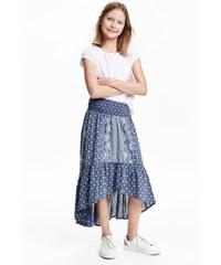 H&M Volánová sukně z bavlny