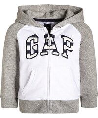 GAP Sweatjacke optic white