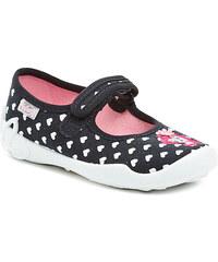 Dětská obuv Befado 114x206 černé dívčí baleríny