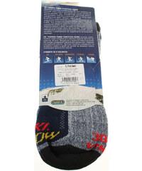 Rejnok Dovoz Ponožky Dětské KS Thermo-Fibre funkční ponožky modrá-černá Rejnok Dovoz