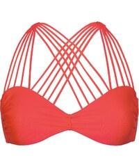 Luli Fama Haut De Bikini Bandeau, Dos Multi Lanières - Multi Cross Bombshell