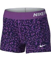 Nike PRO 3 COOL SHORT FACET vínová XS