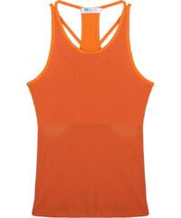 Lesara Sport-Top mit Kontrast-Trägern - Orange - S