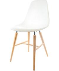 StarDeco Bílá židle - POUZE 1 KS
