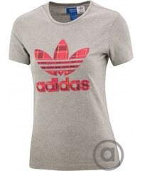 Tričko adidas Originals SLIM TEE TARTAN