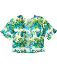 bpc bonprix collection Kimono imprimé, T. 116/122-164/170 vert manches mi-longues enfant - bonprix