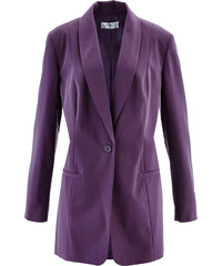 bpc bonprix collection Blazer long violet manches longues femme - bonprix