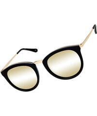 Le Specs No Smirking Sonnenbrille black/gold