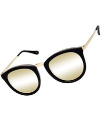 Le Specs No Smirking lunettes de soleil black/gold