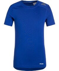 adidas Performance TECHFIT BASE Unterhemd / Shirt blau