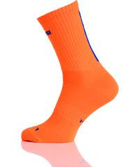 Nessi Prodyšné dlouhé ponožky RKD3 - Oranžová Velikost: 38-41