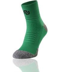 Nessi Termoaktivní ponožky ultrarun pro SU4 - Zeleno-šedá Barva: zelená+šedá, Velikost: 45-47