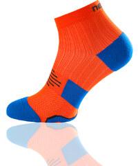 Nessi Bežecké Ponožky Maraton RMN-3 - Oranžová Barva: oranžová, Velikost: 35-37