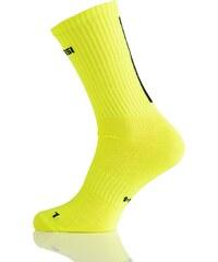 Nessi Prodyšné dlouhé ponožky RKD2 - Citronová Velikost: 38-41
