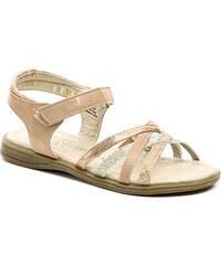 Dětská obuv Sprox 228021 béžové dívčí sandálky