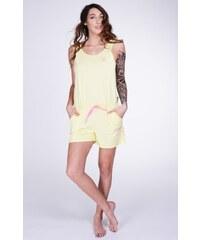 Lazzzy ® SUMMY SHORT light yellow / pink XS