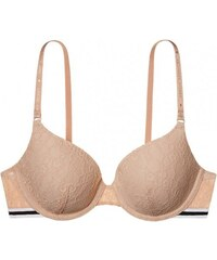Victoria's Secret Sexy krajková podprsenka Sexy Tee Lace Logo Perfect Coverage Bra