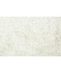 Koupelnová předložka SHAGGY, bílá, 50x70 cm, Mybesthome