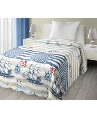 Přehoz na postel MARINE 170x210 cm béžová Mybesthome
