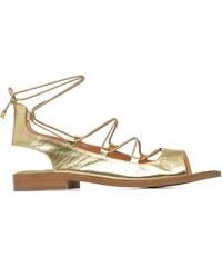 Made by SARENZA - Discow Girl #4 - Sandalen für Damen / gold/bronze