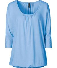 RAINBOW Oversize-Shirt 3/4 Arm in blau für Damen von bonprix