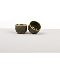 MIJ Miska na saké Sake Cup malá zelená