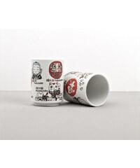 MIJ Hrnek s motivy japonských symbolů štěstí Mug Sushi
