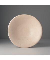 MIJ Designová mísa v pískové barvě
