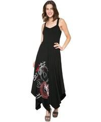 Desigual černé šaty Victoria