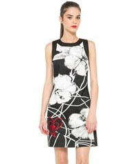 Desigual černo-bílé šaty Alicia