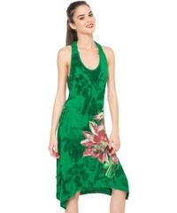 Desigual zelené šaty Roula