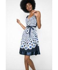 Desigual modré šaty Sina Gineta