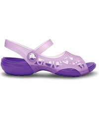 Crocs Adrina Hearts Sandal Iris/Neon Purple