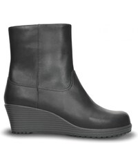 Crocs A-leigh Leather Bootie