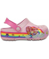 Crocs CrocsLights Rainbow Heart Clog