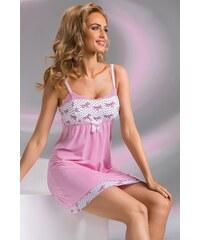 Noční košilka Donna Tifani pink, růžová