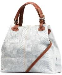 Kožená kabelka Iris šedá
