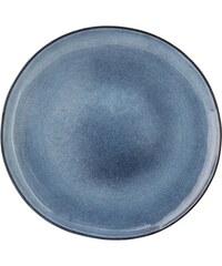 Bloomingville Obědový talíř Sandrine Blue