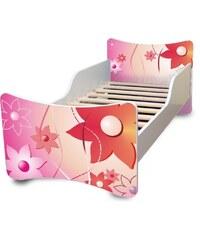 db043109ade2c Ourbaby Detská posteľ Kvetinky, 160x70 cm