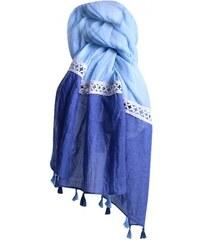 Foulard Blue ANGEL Forme - Cendriyon