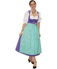 Rubies Dirndl lilla - tradiční bavorský kostým - 36