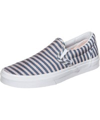 VANS Classic Slip-On Stripes Sneaker Damen
