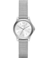Dkny Montres, Parsons Stainless Steel Silver Mesh Watch en argent