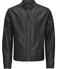 Jack & Jones Lederimitat- Jacke