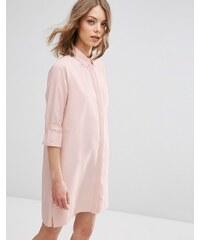 ASOS - Shirtkleid mit Schnalle - Rosa