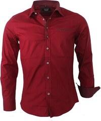 CARISMA košile pánská 8337 dlouhý rukáv slim fit