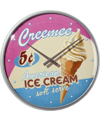 PAST PERFECT Hodiny Ice cream 31cm