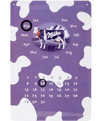PAST PERFECT Plechová cedule, Milka kalendář