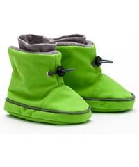 Liliputi zimní capáčky softshell zelené