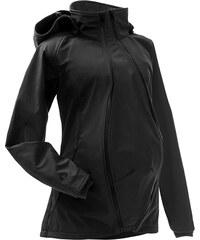 Mamalila letní těhotenská a nosící bunda do každého počasí černá